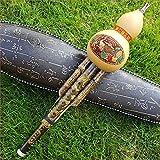 Etbotu Chinesisch Hulusi Trinkflasche Cucurbit Flöte Musikinstrument Ethno C Schlüssel Bb Ton für...