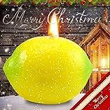 Duftkerze mit Früchten in Form Einer kleinen Obst, Dekoration des Hauses, Weihnachtskerze,...