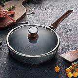 Cooho Universal-Bratpfanne für Gasherd, antihaftbeschichtet, gesunde Pfanne, Bratpfanne, Steak,...