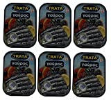 6x 100g Spar Set Sardellen in l und Oregano eingelegt Trata Griechenland Fisch in l Konserve +...
