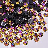 ASTONISCH JUNAO 2 3 4 5 6 mm Farbe Strass Flache Rückseite 3D Nail Art Kristall Steine Strass...