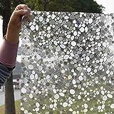 Mattierter undurchsichtiger Sichtschutzglasaufkleber,3D-gefärbte PVC-Selbstklebende...
