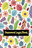 Password Login Book: Internet Password Book Large Print 104 Pages Glossy Cover Design Cream Paper...
