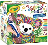 Binney & Smith Super Pen Koala Wachsmalstifte lösen und Zeichnungen Spielzeug Crayola 8+