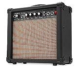 Rocktile Scream 15 Gitarrenverstrker Mini Combo Amp (15 Watt Amplifier, 2-Kanle, Portable, AUX-In fr...