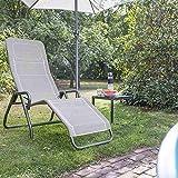 Siena Garden Kippliege Bito anthrazit/taupe