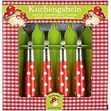 Spiegelburg 10327 Kuchengabeln Frhliche Tupfen (6 Stck.)