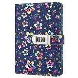 Lirener Retro PU Lederbuch Wieder Auffüllbar Tagebuch Notizbuch Notebook Skizzenbuch Journal Planer...