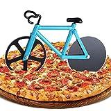 ZAWTR Fahrrad Pizzaschneider, Edelstahl Pizza Schneider Lustige Pizzaroller aus...