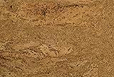1 m Korkfuboden zum kleben, Korkboden in grober-Optik, Klebekork vorversiegelt und vorgeleimt,...