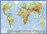 Ravensburger Kinderpuzzle 13097 - Politische Weltkarte - 300 Teile