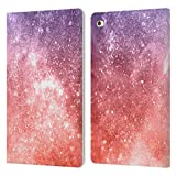 Head Case Designs Offizielle PLdesign Korallen Abstrakte Galaxie Glitzernde Koralle Leder...