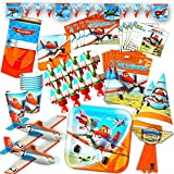 Disney Planes Party Supplies Ultimate Set -- Birthday Party Decorations, Party Favors, Plates, Cups,...