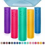 Yogamatte mit Memory-Schaumstoff | Spüre den Unterschied »Kirana« - rutschfest aus ECO-PVC...