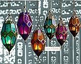 Klass Home Collection Authentischer marokkanischer Lampenschirm, gro, klassisch, Vintage, trkischer...