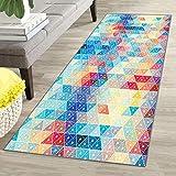 Oran9e Teppich für Flur 90x160cm SchmutzfangLäufer abwaschbar in Versch Größen und Farben...