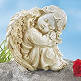 Unbekannt Engel, Grabfigur, Engelfigur, Trauerengel, Grabschmuck, Friedhofsdeko, Grabengel,...