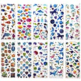 SAVITA 400+ Epoxy Aufkleber fr Kinder Mdchen 3D Geschwollen Stickers fr Bullet Journal Scrapbook...