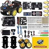 ELEGOO Smart Robot Car Kit V3.0+ Kompatibel mit Arduino IDE Elektronik Baukasten mit UNO R3...