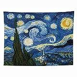 Invinld Tapestry Wandverkleidung Nacht Schlafzimmer Wand Sofa im Wohnzimmer Hintergrunddekoration...