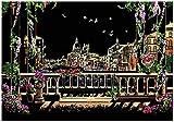YWXKA Black Magic Malkartons Combo, Scratch-Kunstdruckpapier Regenbogen-Malerei-Gekritzel-Pad,...
