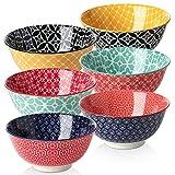 DOWAN Müslischale aus Porzellan 680ml, Salatschüssel Keramik, Suppenschalen, Suppenschüssel,...