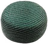 Meister Vogelschutznetz 8 x 8 m - grün - 12 x 12 mm Maschenweite - Robustes Gewebe - Witterungs- &...