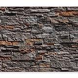 murando Fototapete Steinoptik 400x280 cm Vlies Tapeten Wandtapete XXL Moderne Wanddeko Design Wand...