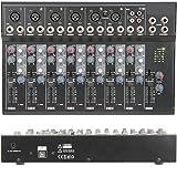 Loops Kompakter PA/DJ Effects Mixer - USB Recording FX Delay 6 Kanal Gain Control