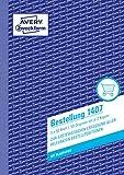 AVERY Zweckform 1407 Bestellung (A5, 3x50 Blatt, mit 2 Blatt Blaupapier und 2 Durchschlägen, zur...
