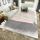 JRMU Abstrakt Rectangle Fußboden Teppiche Indoor Teppich,flauschig Cozy Dick rutschfest Teppich...