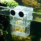 SENZEAL Kunststoff Fisch Isolation Box multifunktionale Zuchttanks Brutkasten Inkubator Box mit 3...