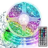 LED Strip 3m, USB LED Streifen RGB, AUELEK 180 LEDs 5050 LED Streifen mit 20 Farben/ 6 Modi/...