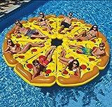Aufblasbar Pizza Stück Salon Riese Pizza Schwimmbad Schwimmsitz Sommer Draussen Party Strand Floß...