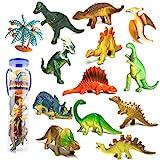 Dreamon Mini Dinosaurier Figuren Set Pdagogisches Realistische Dinos Spielzeug Kunststoff Modell fr...