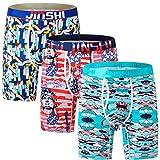 Jinshi Kühlende Unterwäsche für Herren, Boxershorts für Männer -  -  Etikettengröße XXL = US...