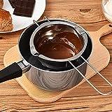 Backwerkzeuge Küchenutensilien Geschirr Edelstahl Wasserbad aus Schokolade Schmelzen Wasser Heizung...