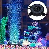 Aquarium Aquarium, Aquarium Bubble Light, 6 LED-Lampe, Aquarium Bolla Aria Stein Fish Tank Bubble...