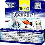Tetra Test 6in1 Wassertest, für das Aquarium, schnelle und einfache Überprüfung der...