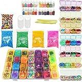 YUWEX 70 pieces Bügelperlen Set Mehrfarbig Bügelperlen mit Stiftplatten Steckperlen und Bunte...