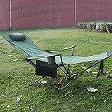 YLCJ Campingstuhl, verstellbar, faltbar, für Outdoor, Freizeit, Angeln, Strand, Picknick, Garten,...
