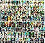 TAMO Karten für Pokemon, 60/100/120 Stück Sammelkarten Set mit Kartenset Karten Kindergeschenke...