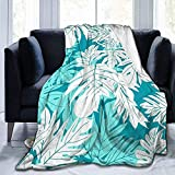 Sweet Firefly Hula 'Ulu Teal Aqua Fleece Decke werfen leichte Decke Super weiches gemütliches Bett...