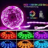 Led Strip 5M Led streifen Led Band SHINELINE SMD 5050 RGB Led Leiste Led lichterkette mit...