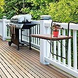 Greensen Hngetisch Balkon Kleine Klapptisch Balkon Tisch Holz Balkontisch Gartentisch...
