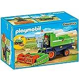 Playmobil 9532 - Mähdrescher mit Mähdreschfahrer und 6 Garben Heu , limited Edition