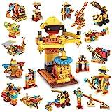 STEM Spielzeug Konstruktionsspielzeug,218 Stück Bausteine, Kompatibel mit...