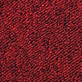 20 Stück Teppichfliesen Bodenfliesen Teppich Teppichplatten selbstliegend 50 x 50 cm 5 m² in Rot