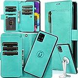 Auker Samsung Galaxy A51/A71 (4G) Abnehmbare Brieftaschen-Schutzhülle für Damen, 2-in-1 9...