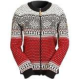 ICEWEAR Martha-Strickjacke für Frauen aus Wolle im norwegischen Stil mit durchgehendem...